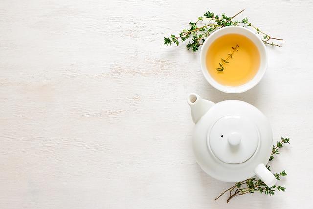 ティーポットと中国茶