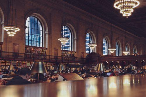 学習スペースのような場所の画像