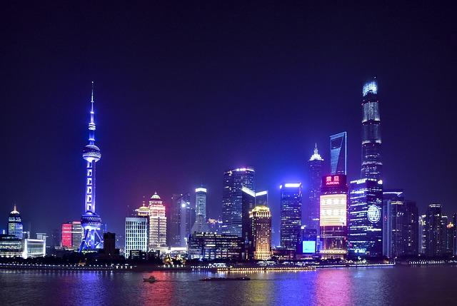 上海の外灘の夜景
